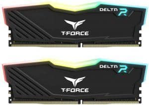 TEAMGROUP T-Force Delta RGB DDR4 DRAM (2 x 8GB) 3200MHz CL16