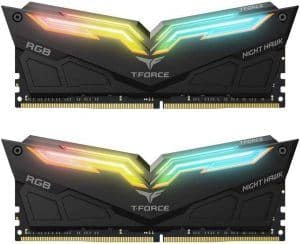 TEAMGROUP T-Force Night Hawk DDR4 DRAM (2 x 8GB) 3200MHz CL16