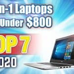 2 in 1 laptops for less than $800 reviews featured image