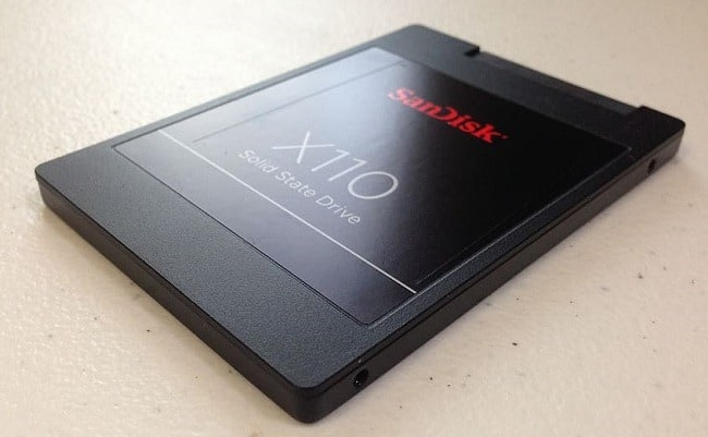 a solid-state drive