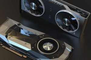 graphics card and fan of GPU